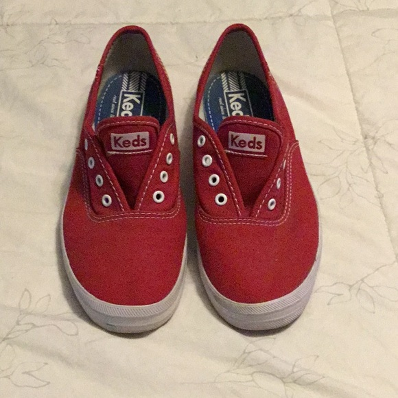 Women's Red Keds size 6 wore once